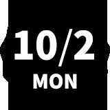 10/2 MON